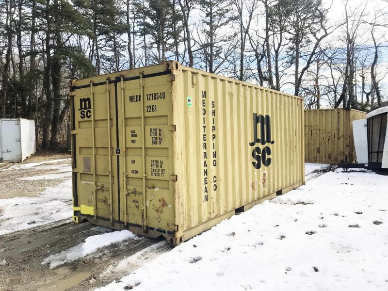 20' USED CONTAINERS FOR SALE