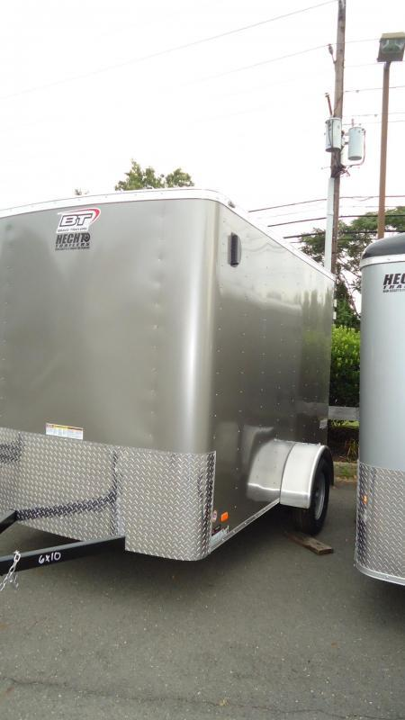 "2021 Bravo Trailers 6X10 SC SA 6""X MC PEWTER Enclosed Cargo Trailer"