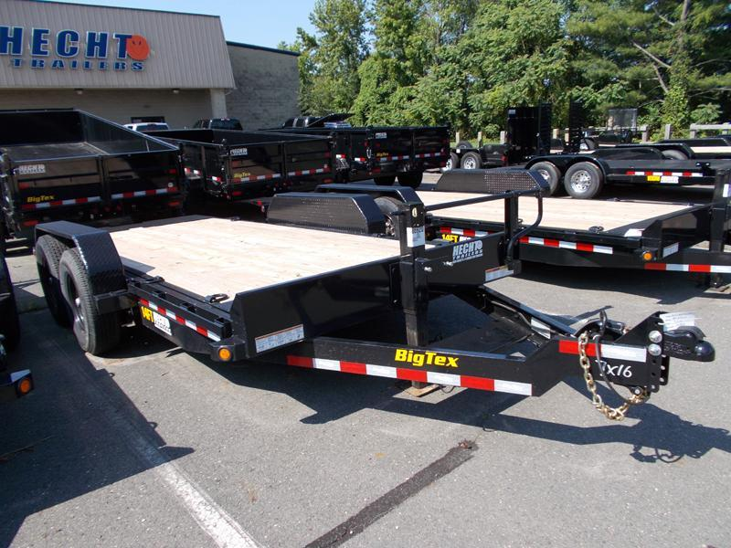 2020 Big Tex Trailers EH 7X16 14FT 16BK FULL TILT BLACK Equipment Trailer
