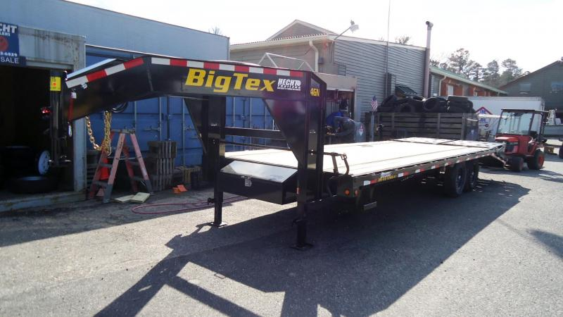 2020 Big Tex Trailers EH 8.5X25 14GN 20BK+5MR MEGA BLACK Equipment Trailer