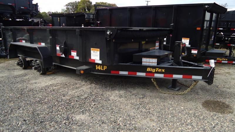 2021 Big Tex Trailers DT 7X14 14LP 14BK6SIRPD BLACK Dump Trailer