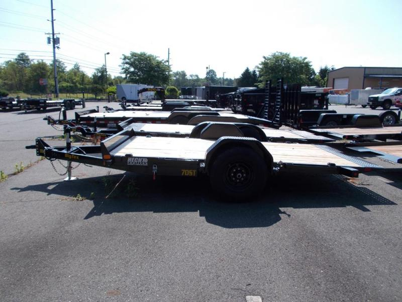 2020 Big Tex Trailers EH 6.5X13 70ST 13BK TILT BLACK Equipment Trailer