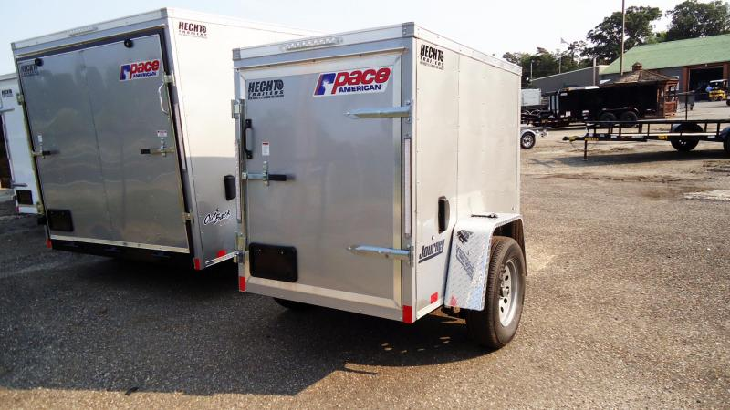 2022 Pace American 4X6 JV SI2 V SILVER Enclosed Cargo Trailer