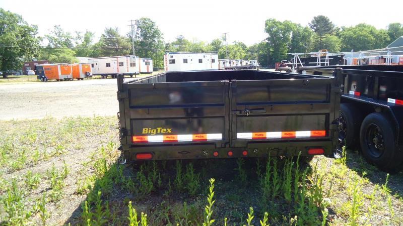 2021 Big Tex Trailers DT 7X14 16LP 14BK 6SIRPD BLACK Dump Trailer