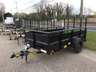 2021 Big Tex Trailers 5X10 / 30SV Utility Trailer