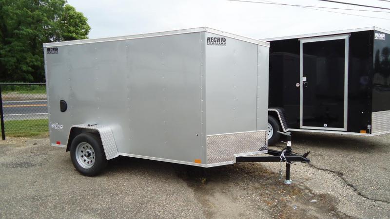 2022 Pace American 5X10 OBDLX SI2 V SVNT SILVER Enclosed Cargo Trailer
