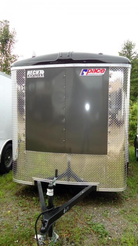 2020 Pace American 6X10 JTSE SI2 DRNG SVNT CHARCOAL Enclosed Cargo Trailer