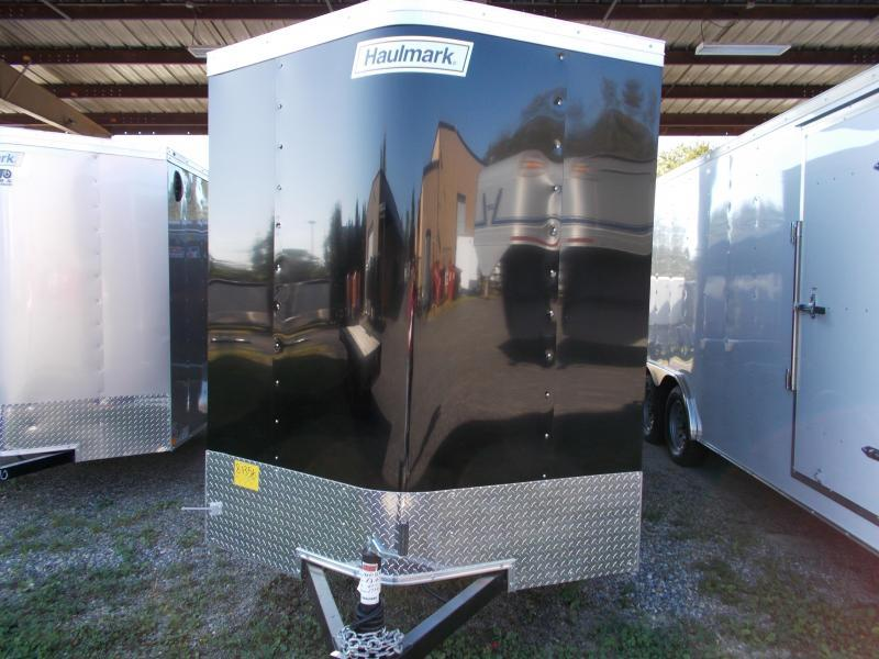 2020 Haulmark 6X10PP S2-D BLACK Enclosed Cargo Trailer