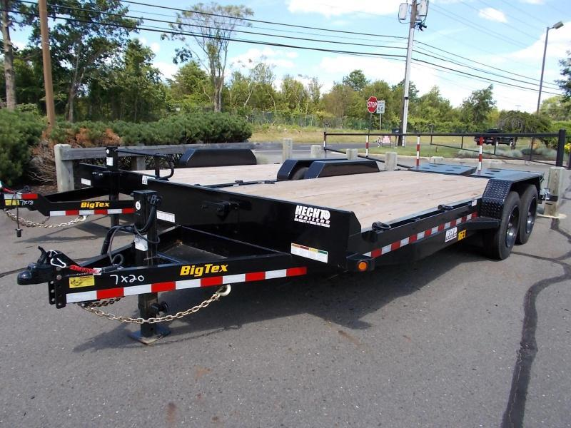 2020 Big Tex Trailers EH 7X20 16ET 17+3BK MEGA BLACK Equipment Trailer