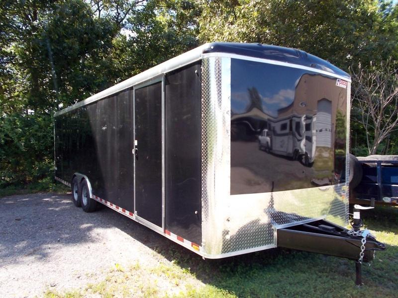 2021 Pace American 8.5X28 JTSE TE4 RAMP+ ESCDR BLACK Enclosed Cargo Trailer