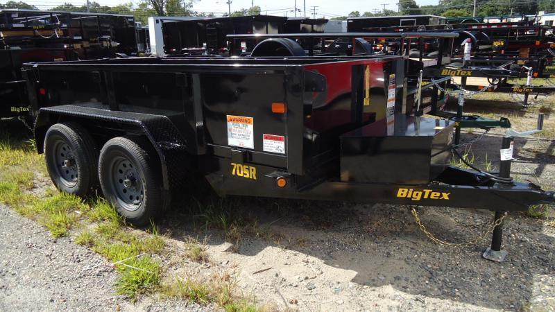 2021 Big Tex Trailers DT 5X10 70SR 10 5WDD BLACK Dump Trailer