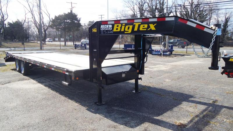 2021 Big Tex Trailers EH- 8.5X27 14GN 22BK +5MR BLACK Equipment Trailer
