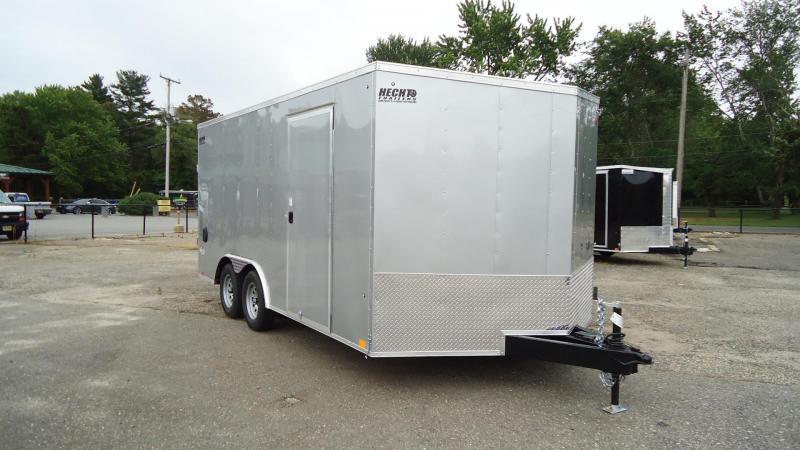 "2022 Pace American 8.5X16 OBDLX TE2 12""T RAMP SVNT SILVER Enclosed Cargo Trailer"