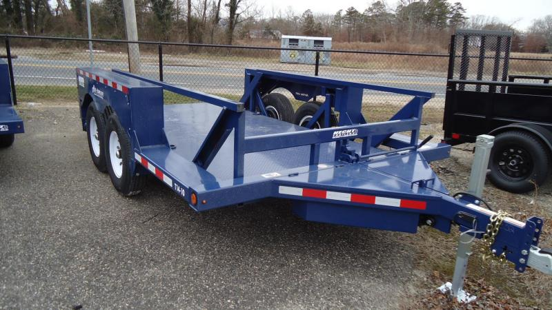 2021 Air Tow 6x14 T14-10 Tandem Axle Flatbed Utility Trailer