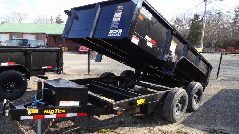 2022 Big Tex Trailers DT 6X10 90SR 10BK 6SIR BLACK Dump Trailer