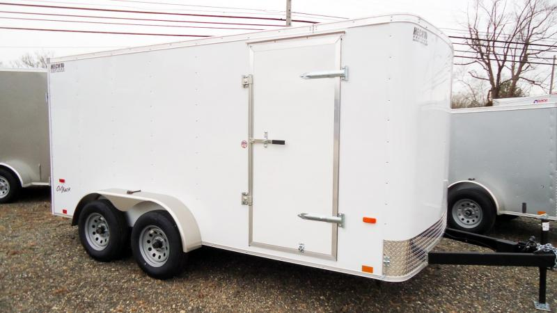 2022 Pace American 7X14 OB TE2 WHITE Enclosed Cargo Trailer