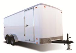 2022 Pace American 7X14 OB TE2 WHITE Enclosed Cargo Trailer