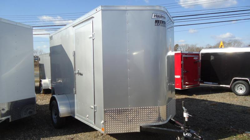 2020 Haulmark 6X10 PP S2-D RAMP SILVER Enclosed Cargo Trailer