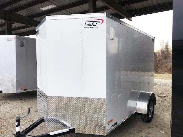 2021 Bravo Trailers 6X10 SC SA V LD RAMP APP WHITE Enclosed Cargo Trailer