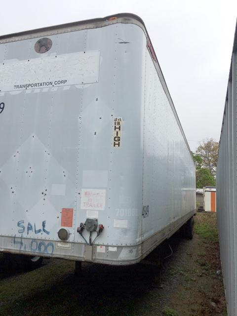 USED 48 FOOT DOCK HEIGHT TRAILER