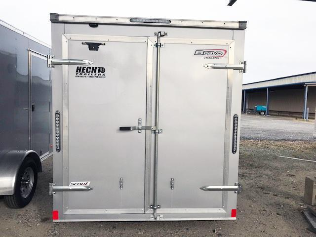 2021 Bravo Trailers 6X10 SC SA V APP SILVER Enclosed Cargo Trailer