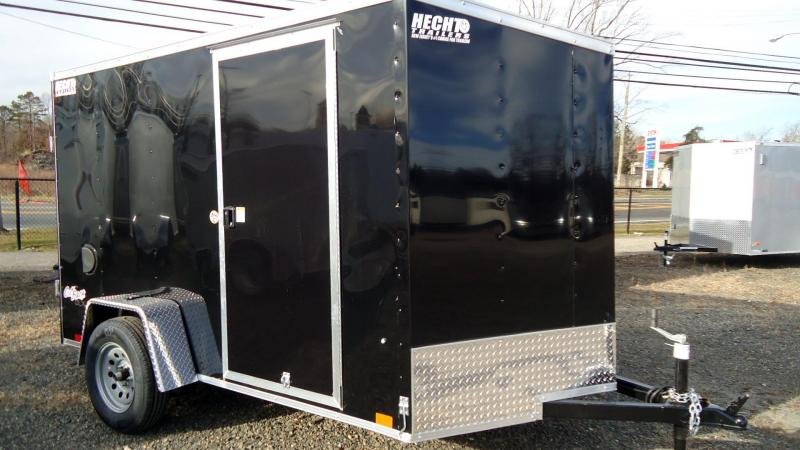 2022 Pace American 6X10 OBDLX SI2 V RAMP SVNTS BLACK Enclosed Cargo Trailer