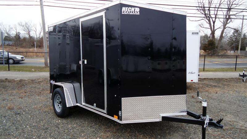 2022 Pace American 6X10 OBDLX SI2 V RAMP SVNTS BLACK Enclosed Cargo Trailer