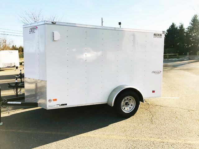 "2021 Bravo Trailers 5X10 SC SA V 6""X LD RAMP WHITE Enclosed Cargo Trailer"