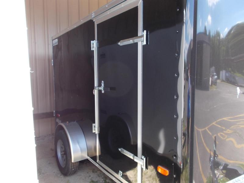 2021 Pace American 6X10 OB SE2 EB RAMP BLACK Enclosed Cargo Trailer