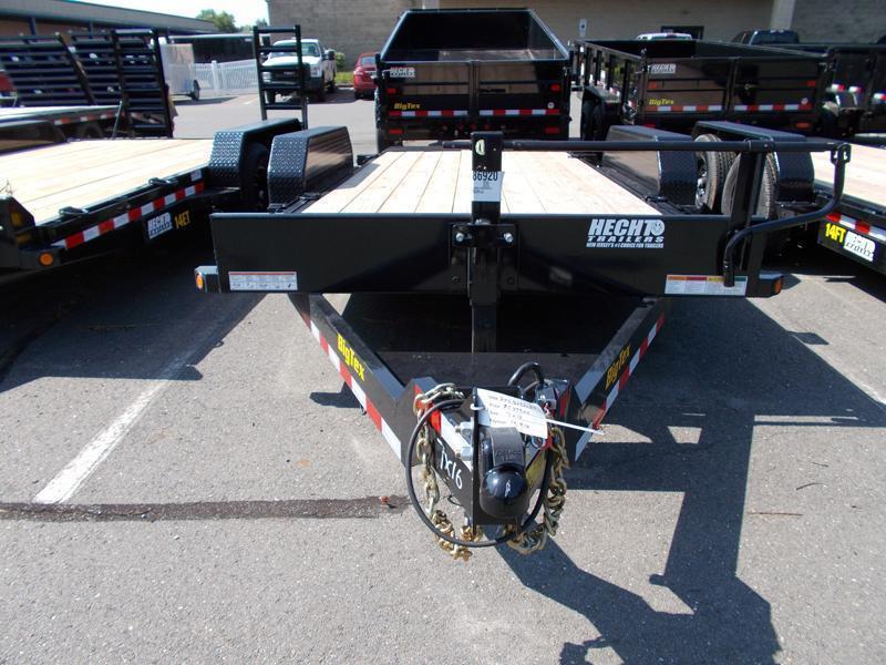 2021 Big Tex Trailers EH 7X16 14FT 16BK FULL TILT BLACK Equipment Trailer