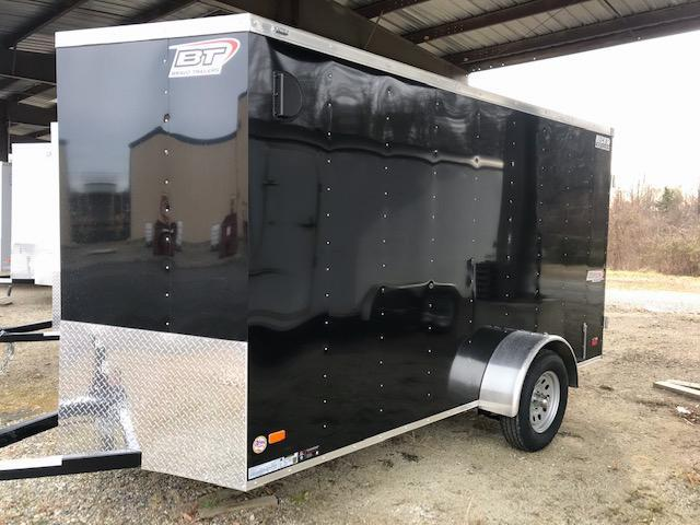 2021 Bravo Trailers 6X12 SC SA V APP BLACK Enclosed Cargo Trailer