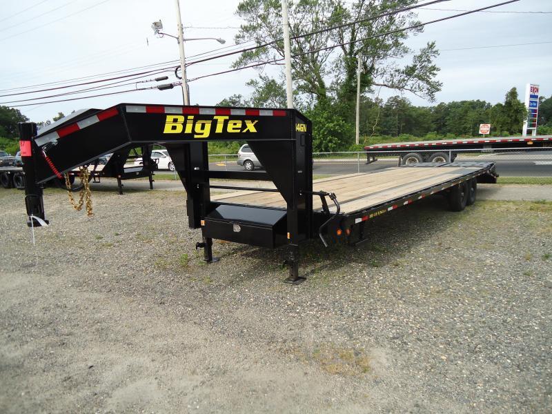 2020 Big Tex Trailers EH 8.5X30 14GN 25BK+5MR MEGA BLACK Equipment Trailer