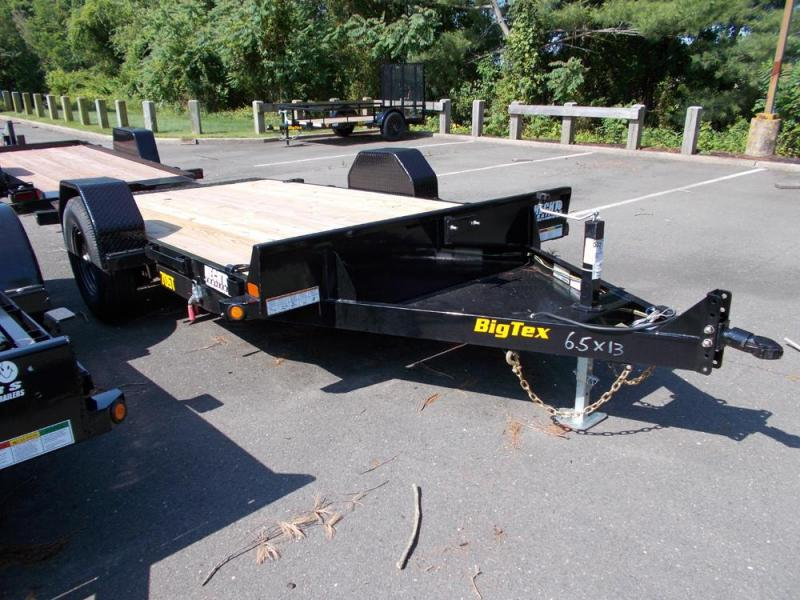 2020 Big Tex Trailers EH 6.5X13 70ST 13BK TILT BLACK Equipment Trailer