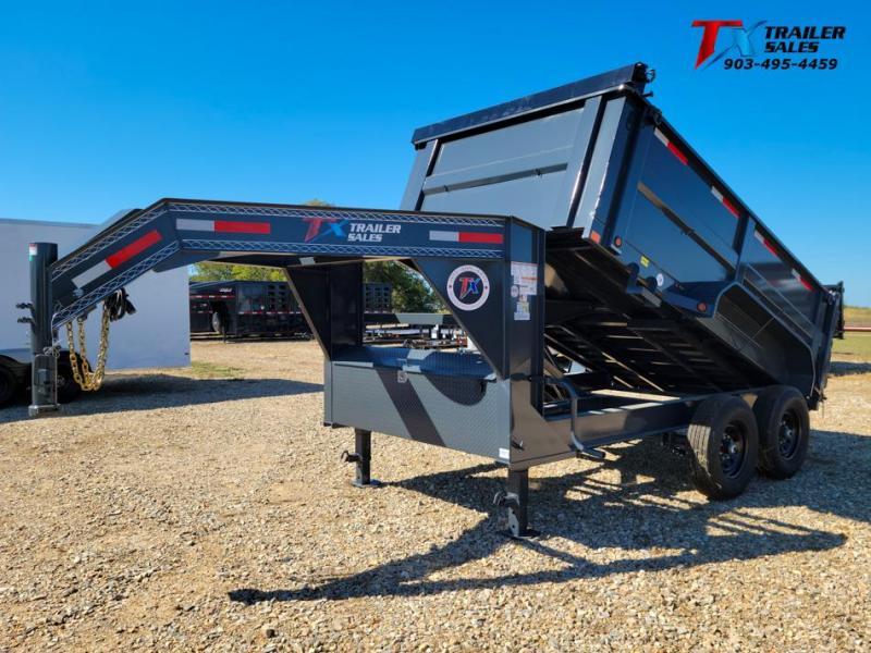 "2022 East Texas 83"" X 12' GN DUMP 14K Dump Trailer"