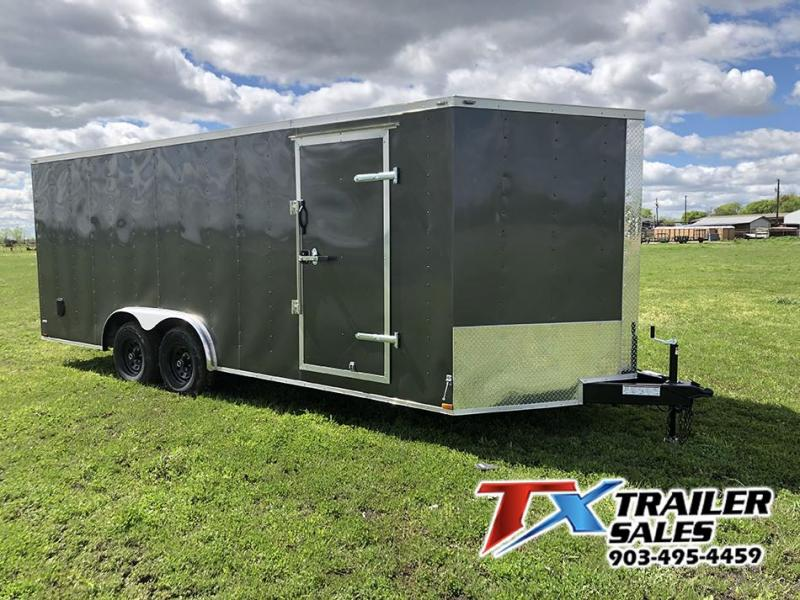 2020 Lark 8.5' X 20' 10K Enclosed Cargo Trailer