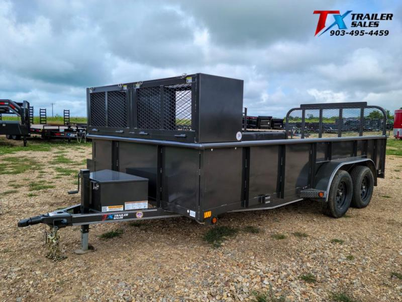 "2022 East Texas 83"" X 16' LANDSCAPE 7K Utility Trailer"