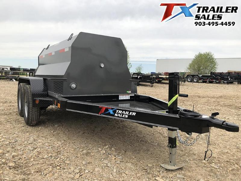 2021 East Texas 5 X 8 DIESEL TANK TRAILER WITH 600 GAL TANK 7K