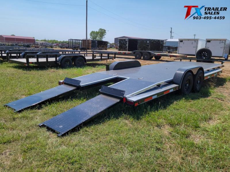 "2022 East Texas 83"" X 24' DREAM HAULER 12K Car / Racing Trailer"