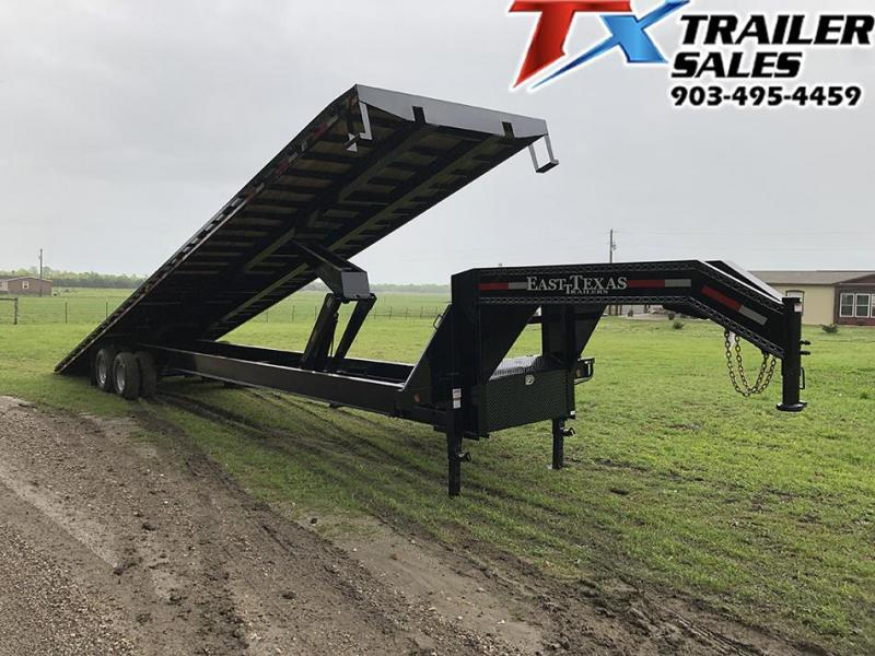 2020 East Texas 102 X 40 GOOSENECK LOW-PRO DECK OVER TILT 20K