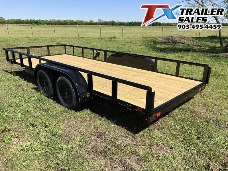 "2021 East Texas Trailers 83"" X 18' CLASSIC UTILITY 7K"