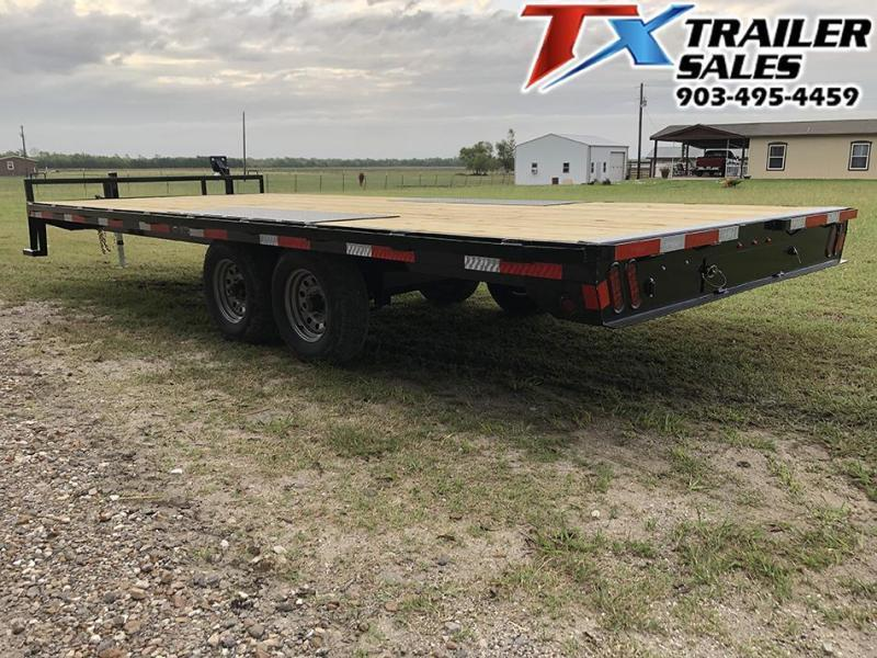 2021 East Texas 102 X 20 BP DECK OVER 12K Flatbed Trailer