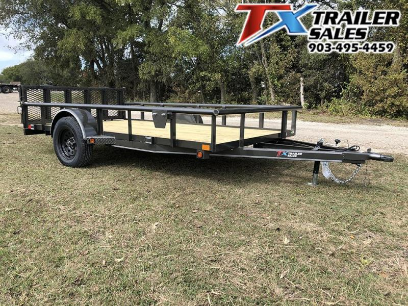 2021 East Texas 77 X 12 SINGLE AXLE 3K Utility Trailer