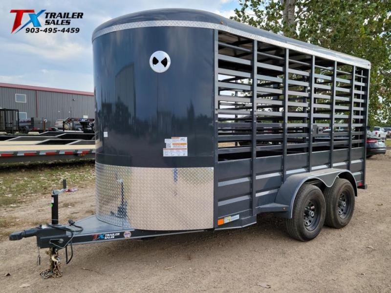 "2022 East Texas 72"" X 14' BP 12K LIVESTOCK TRAILERS Livestock Trailer"