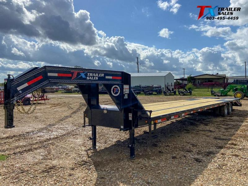 """2022 East Texas 102"""" X 40' GN HD DECK OVER 24K Flatbed Trailer"""