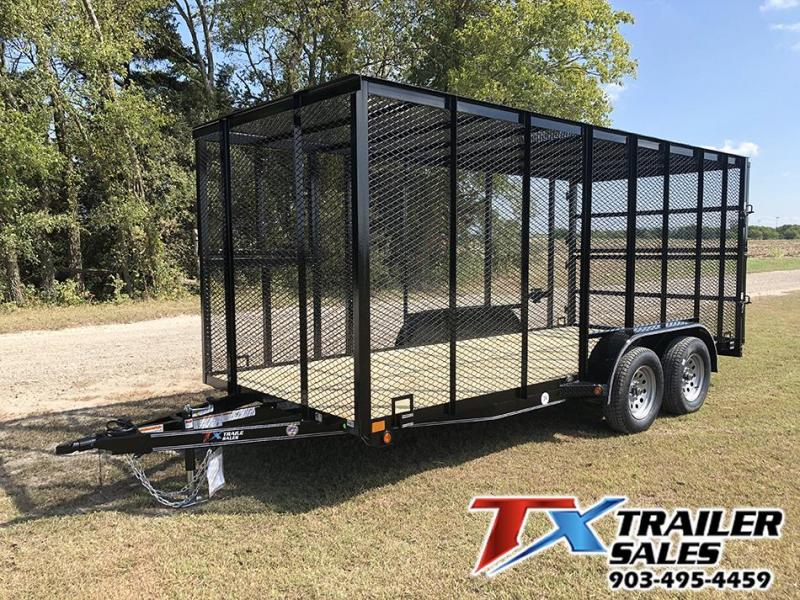 2021 East Texas 77 X 16 TRASH TRAILER 7K Other Trailer