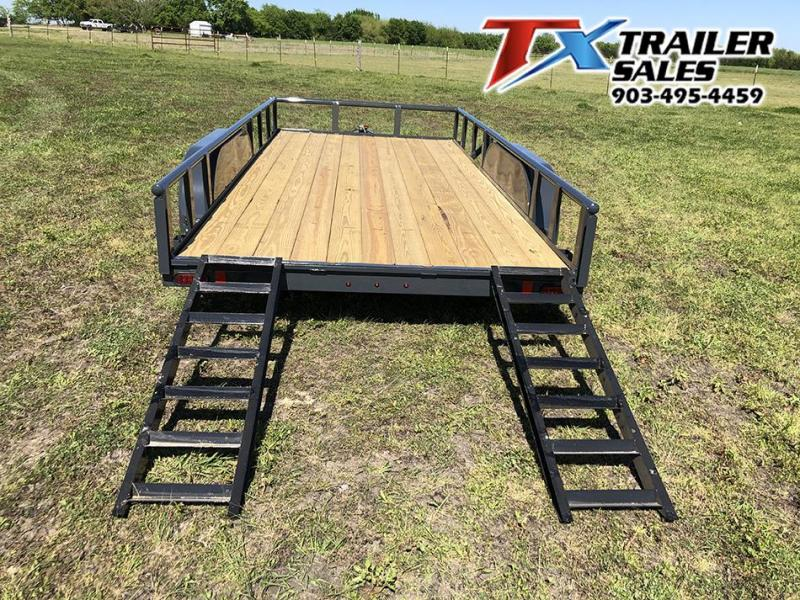 "2021 East Texas Trailers 83"" X 16' CLASSIC UTILITY 7K Utility Trailer"
