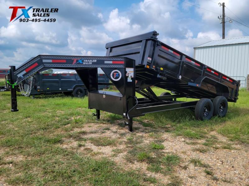 "2022 East Texas 83"" X 16' GN DUMP 14K Dump Trailer"