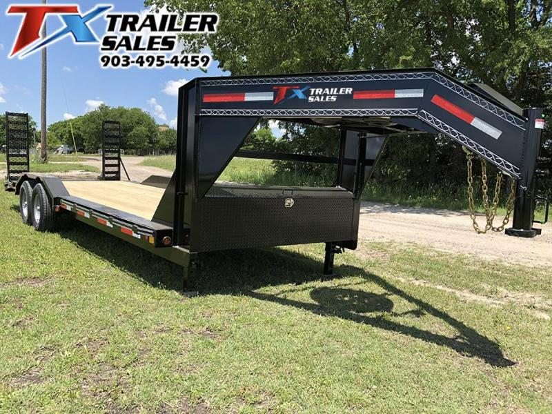 2021 East Texas 102 X 24 GOOSENECK LOW BOY EQUIPMENT 14K Equipment Trailer