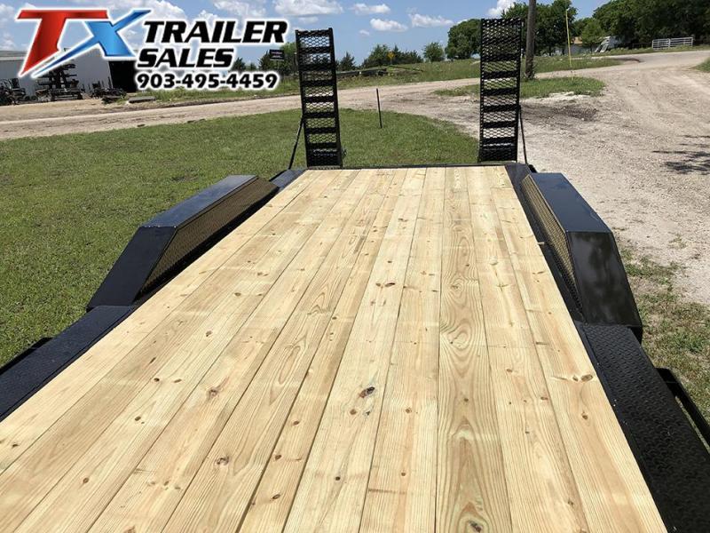 2021 East Texas 102 X 24 GOOSENECK LOW BOY EQUIPMENT 14K Equipment Trailer