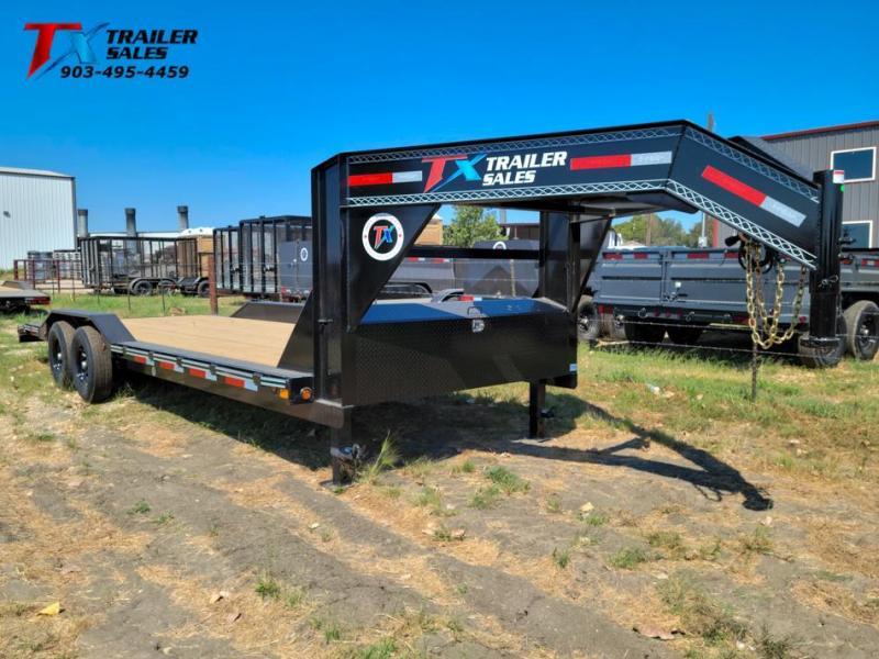 "2022 East Texas 102"" X 24' GN LOW BOY EQUIPMENT 14K Equipment Trailer"